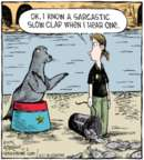 Comic Strip Dave Coverly  Speed Bump 2016-06-02 sarcasm