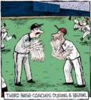 Cartoonist Dave Coverly  Speed Bump 2016-10-05 baseball
