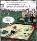 Cartoonist Dave Coverly  Speed Bump 2016-11-07 outside