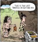 Comic Strip Dave Coverly  Speed Bump 2016-11-08 caveman