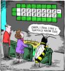Cartoonist Dave Coverly  Speed Bump 2017-12-05 word game