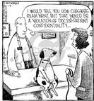 Cartoonist Dave Coverly  Speed Bump 2000-01-30 animal rights