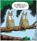 Cartoonist Dave Coverly  Speed Bump 2007-10-12 tree branch