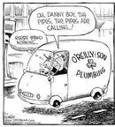 Cartoonist Dave Coverly  Speed Bump 2001-03-01 Bill O'Reilly