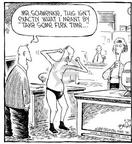 Cartoonist Dave Coverly  Speed Bump 2000-05-29 muscle
