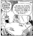 Cartoonist Dave Coverly  Speed Bump 2001-09-11 fruit