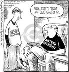 Cartoonist Dave Coverly  Speed Bump 2004-01-13 rule