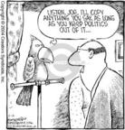 Cartoonist Dave Coverly  Speed Bump 2004-02-12 mimic