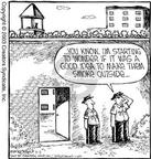 Cartoonist Dave Coverly  Speed Bump 2003-09-05 rule