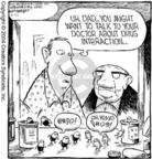 Cartoonist Dave Coverly  Speed Bump 2004-04-21 pill