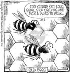 Cartoonist Dave Coverly  Speed Bump 2004-04-24 circle