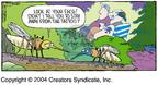 Cartoonist Dave Coverly  Speed Bump 2004-05-16 mosquito
