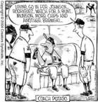 Cartoonist Dave Coverly  Speed Bump 2004-07-05 baseball player