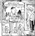 Cartoonist Dave Coverly  Speed Bump 2004-07-07 removal
