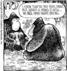 Cartoonist Dave Coverly  Speed Bump 2004-07-30 forest
