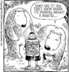 Cartoonist Dave Coverly  Speed Bump 2004-08-24 wildlife