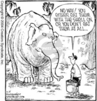 Cartoonist Dave Coverly  Speed Bump 2004-09-16 zoo