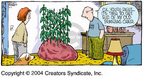 Cartoonist Dave Coverly  Speed Bump 2004-11-07 vegetable