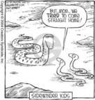 Cartoonist Dave Coverly  Speed Bump 2004-11-23 motion