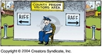 Cartoonist Dave Coverly  Speed Bump 2004-11-28 division