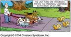 Cartoonist Dave Coverly  Speed Bump 2004-12-19 wildlife
