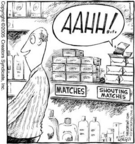 Cartoonist Dave Coverly  Speed Bump 2005-01-06 yell