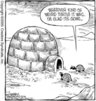 Cartoonist Dave Coverly  Speed Bump 2005-02-15 south