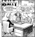 Cartoonist Dave Coverly  Speed Bump 2005-03-09 lady