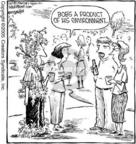 Cartoonist Dave Coverly  Speed Bump 2005-06-02 leaf