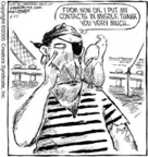 Cartoonist Dave Coverly  Speed Bump 2005-06-23 scratch