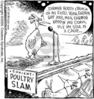Cartoonist Dave Coverly  Speed Bump 2005-07-01 chicken feed