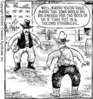 Cartoonist Dave Coverly  Speed Bump 2005-10-03 gun