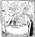 Cartoonist Dave Coverly  Speed Bump 2005-10-06 drop