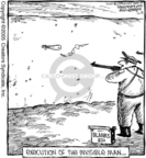 Cartoonist Dave Coverly  Speed Bump 2005-11-19 gun