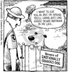 Cartoonist Dave Coverly  Speed Bump 2005-12-15 guard