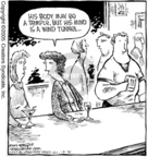 Cartoonist Dave Coverly  Speed Bump 2005-12-31 muscle