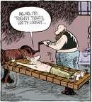 Cartoonist Dave Coverly  Speed Bump 2006-02-24 stretch
