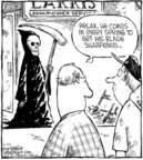 Cartoonist Dave Coverly  Speed Bump 2006-03-25 gardening equipment