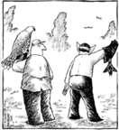 Cartoonist Dave Coverly  Speed Bump 2006-05-04 glove