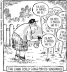 Cartoonist Dave Coverly  Speed Bump 2006-06-21 point