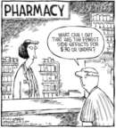 Cartoonist Dave Coverly  Speed Bump 2006-07-20 pharmacy