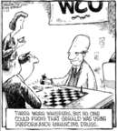 Cartoonist Dave Coverly  Speed Bump 2006-07-22 steroids