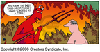Cartoonist Dave Coverly  Speed Bump 2006-07-30 pitch