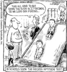 Cartoonist Dave Coverly  Speed Bump 2006-10-06 educational standards