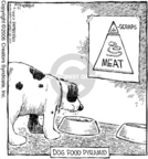 Cartoonist Dave Coverly  Speed Bump 2006-10-21 food pyramid