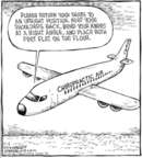 Cartoonist Dave Coverly  Speed Bump 2006-11-06 airplane
