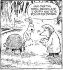 Cartoonist Dave Coverly  Speed Bump 2006-12-11 steroids