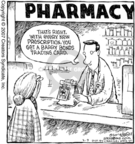 Cartoonist Dave Coverly  Speed Bump 2007-03-09 pharmaceutical