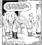 Cartoonist Dave Coverly  Speed Bump 2007-04-03 blind