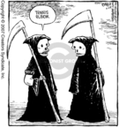 Cartoonist Dave Coverly  Speed Bump 2007-04-28 arms